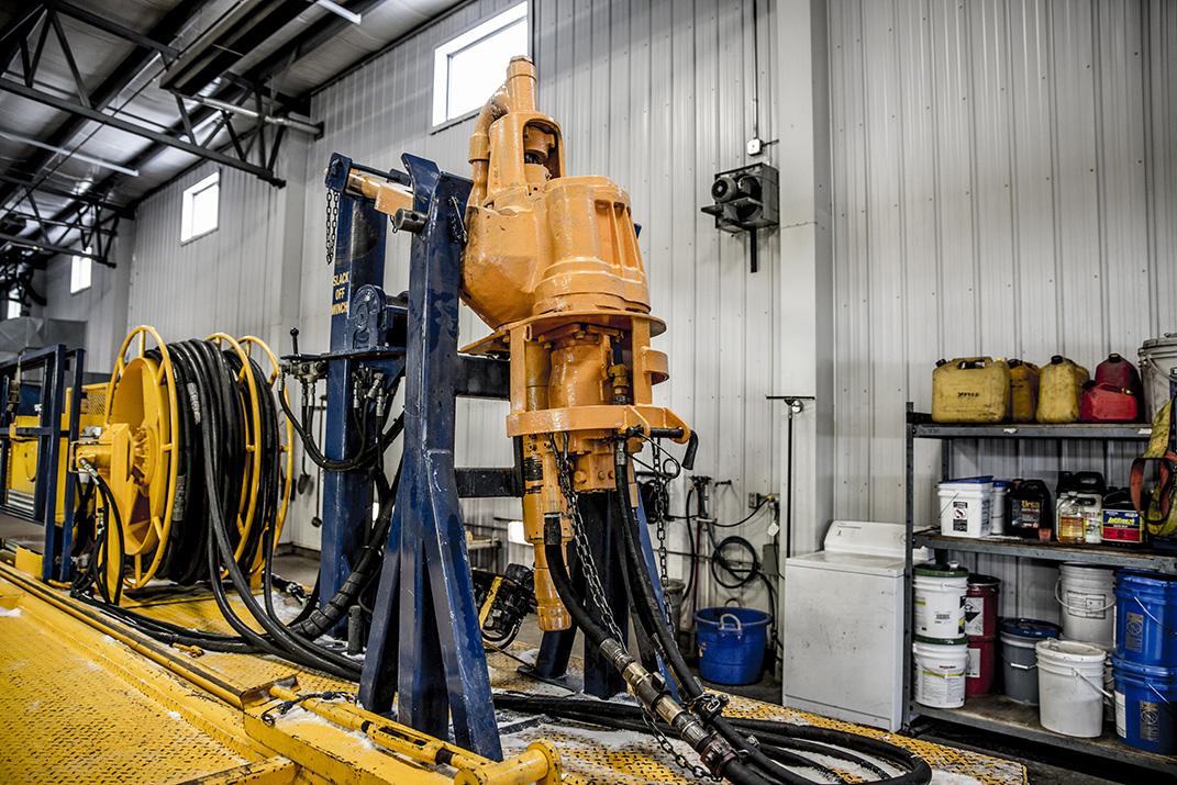 85 Ton Power Swivel Unit